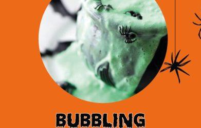 Bubbling Halloween Slime!