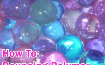 Make Bouncing Polymer Balls
