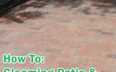 Gleaming Patio & Bricks