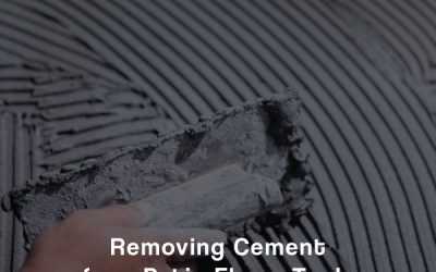 Removing Cement